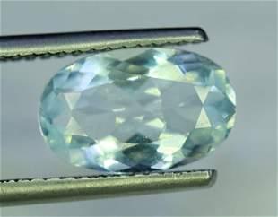 Aquamarine Gemstone , Natural Top Grade Color