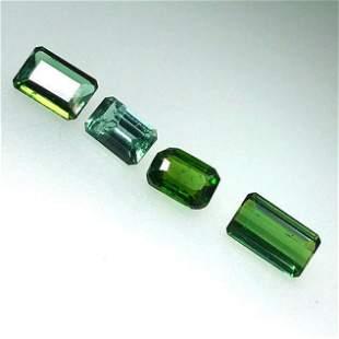 2.95 Cts Natural Tourmaline Pieces Lot 4 Pcs