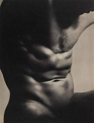 LAURE ALBIN GUILLOT - Male Torso, 1934