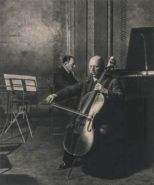 BILL BRANDT - The Cellist