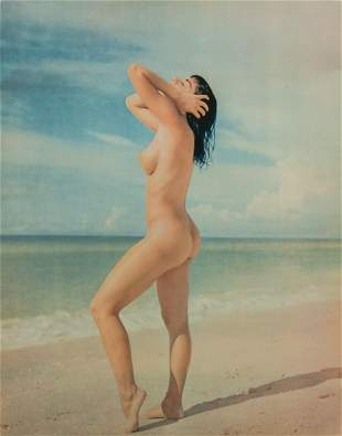 ANDRE DE DIENES - Beach Nude Color