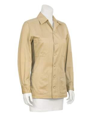 Yves Saint Laurent Beige Safari Jacket