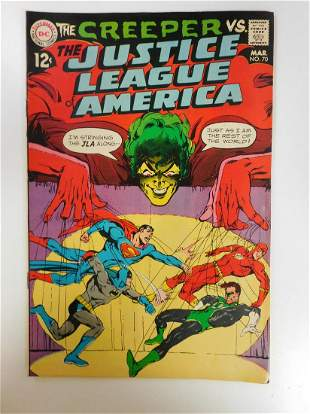 Justice League of America #70