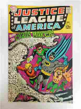Justice League of America #68