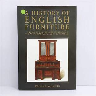 A HISTORY OF ENGLISH FURNITURE
