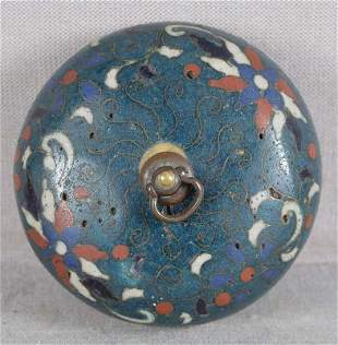 Early 19c cloisonne netsuke SUIGARAAKE ashtray
