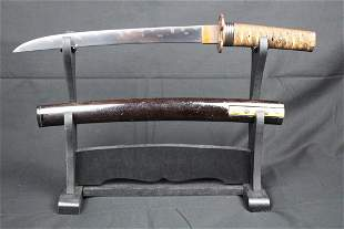Antique Japanese Sword - A Mino Kanenori Tanto (Signed)