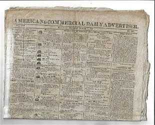 1812 Baltimore Newspapers Politics War