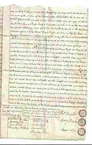 1795 English Indenture Mariner to Dyer