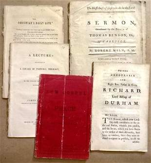 Lot of Religious Pamplets Dating to 18th C