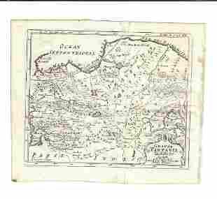18th C Lot of Russia Maps Morden De Fer