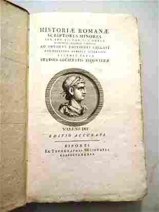 1789 Historiae Romanae Scriptores Minores