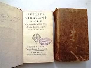 1779 Two Vol Set Publius Virgilius Maro