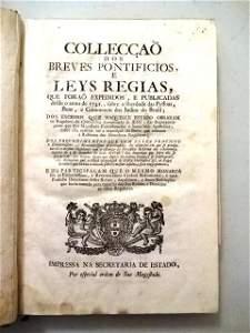 1741 Collection of Jesuit Pamphlets Brazil Papal Bull