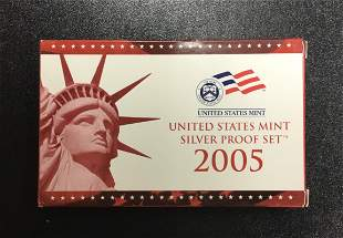 United States Mint ~ Silver Proof Set ~ 2005