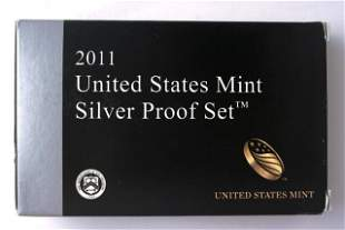 United States Mint ~ Silver Proof Set ~ 2011