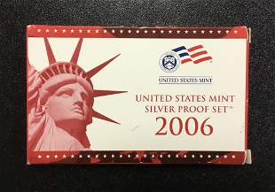 United States Mint - Silver Proof Set - 2006