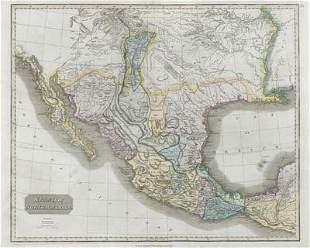"""Spanish North America"". THOMSON. Texas, Mexico &"