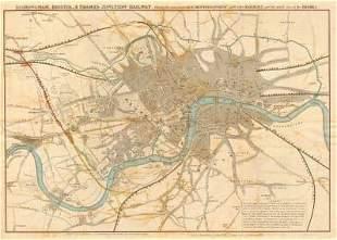 """""""Birmingham, Bristol & Thames Junction Railway"""". West"""