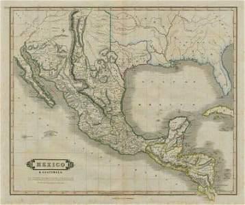 Mexico & Guatimala with the Republic of Texas. LIZARS