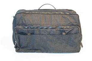 Fendi zucca 2way boston shoulder bag