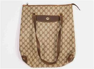 Gucci Vintage Tan Tote