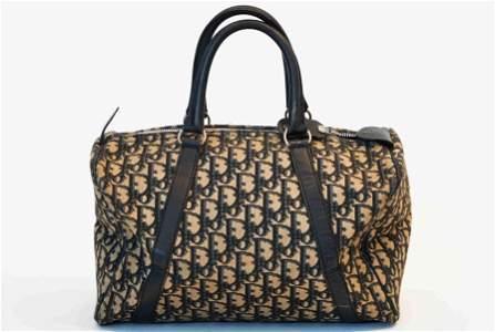 Christian Dior trotter navy speedy25 handbag