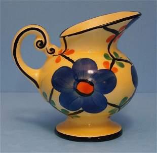 Vintage Czech Art Pottery Ditmar Urbach Pitcher