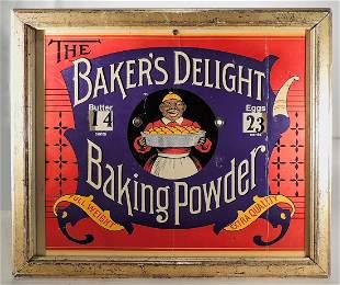 Baker's Delight Framed Advertising