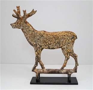 Large Deer Arcade Carnival Cast Iron Target
