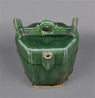 Chinese Export Tea Pot