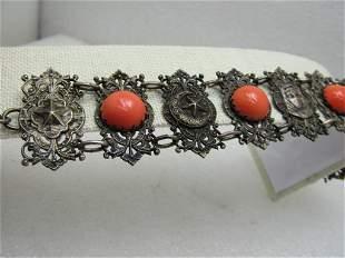 Vintage Hand of Fatima/Hamsha Charm it has nine