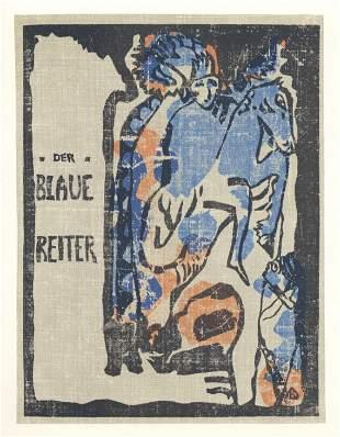 "Wassily Kandinsky lithograph ""Der Blaue Reiter"""