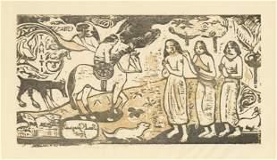 "Paul Gauguin ""Changement de residence"""