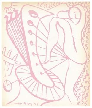 Man Ray original lithograph