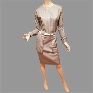 Pierre Cardin Paris Iconic 60's Dress GoGo with white