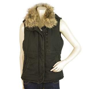 Polo Jeans Ralph Lauren Zipper Front Sleeveless Vest