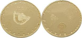 Nederland 10 Euro 2012 Grachtengordel - Gold Proof