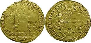 France Ecu d'or à la chaise 1328-1350 Philippe VI -