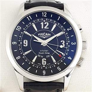 Vulcain - Cricket Dual Time - Ref: 100.105.020 - Men -