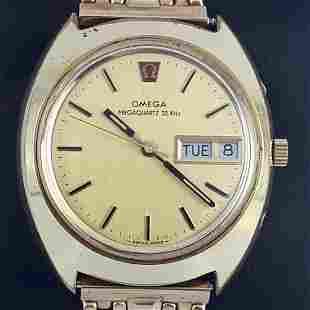 Omega - Megaquartz 32KHz - Ref: 196.0037 - Men -