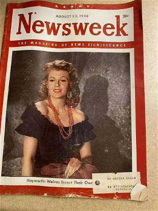 August 23, 1948 Newsweek