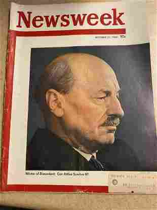 October 31, 1949 Newsweek