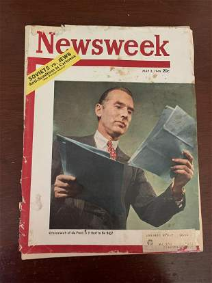 May 2, 1949 Newsweek