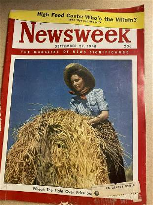 September 27, 1948 Newsweek