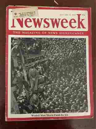 January 15, 1945 Newsweek