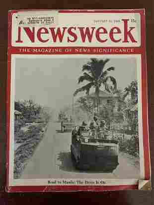 January 22, 1945 Newsweek