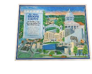 All Around Broome County Board game