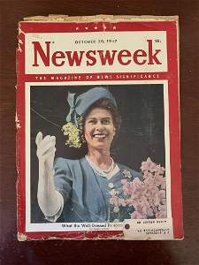 October 20, 1947 Newsweek