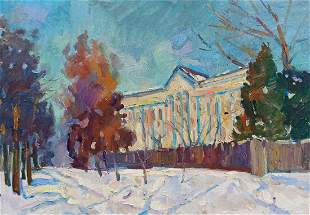 Oil painting School Peter Tovpev